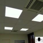 Particolare controsoffitto con plafoniera LED - Foto
