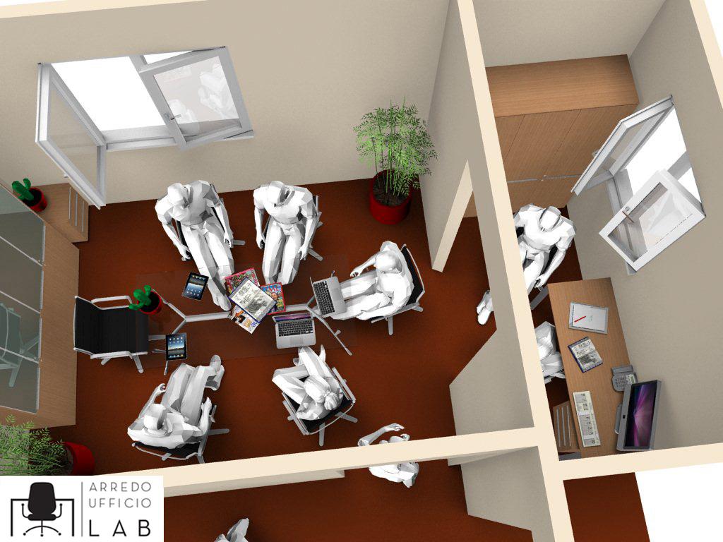 Studio legale avv carnino arredo ufficio lab torino for Arredo sala riunioni