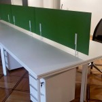 Postazioni operative con scrivania da 160x80 - Foto
