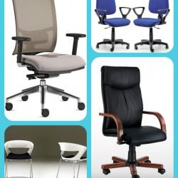 Sedie da ufficio: le diverse tipologie per i diversi usi