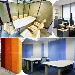 4 - Le tende da ufficio sono i complementi di arredo che svolgono più funzioni contemporaneamente: proteggono da luce e calore, tutelano da sguardi indiscreti e arredano l'ambiente.