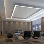 3 - Combinando controsoffittature e faretti da incasso è possibile realizzare dei sistemi di illuminazione d'effetto.