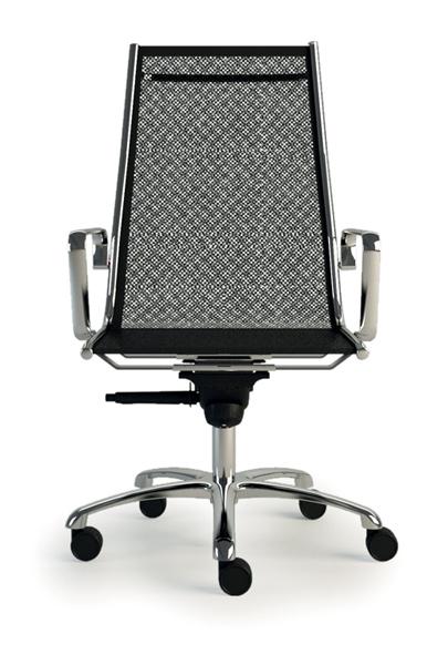 Una seduta direzionale leggera e confortevole firmata Luxy.