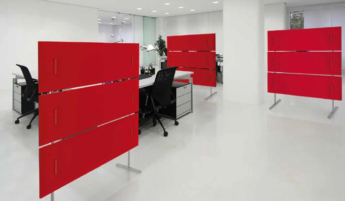 Divisori per ufficio come tutelare ordine e privacy negli uffici open space - Pannelli fonoassorbenti decorativi ...