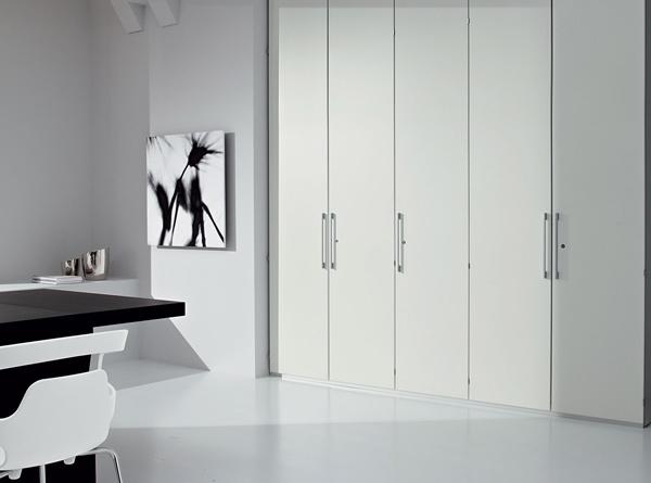 La parete attrezzata rappresenta la quintessenza dell'ottimizzazione degli spazi. Questa soluzione è firmata Newall.