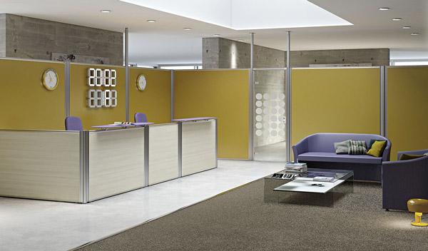 Parete Divisoria Ufficio : Per riprogettare un ufficio a volte bastano delle pareti divisorie