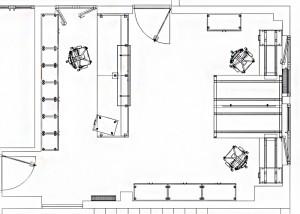Fase 3 – Planimetria 2D arredata in CAD