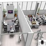 Sala riunioni 3D - Prima versione