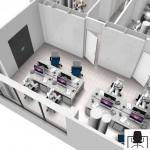 Open space operativo 3D