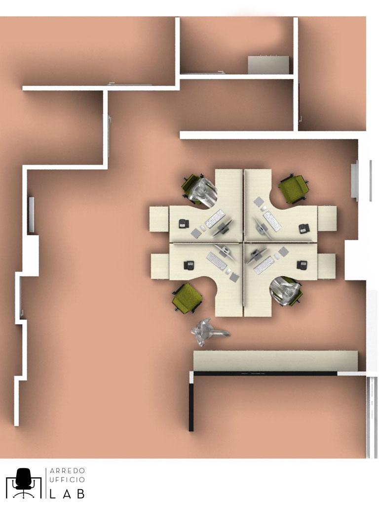 Se lo spazio è ridotto, il nostro consiglio è quello di rivolgervi a dei professionisti dell'arredo ufficio per una progettazione efficiente e funzionale.
