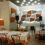 A Rimini, nel ristorante Da Marco, troviamo pannelli Mitesco e Flap.