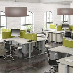 I clienti vi fanno disperare? Spostate lo sguardo sui pannelli divisori verdi: si dice che il verde calmi!